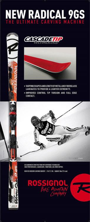 3973d5e032c760 Rossignol Radical FIS Worldcup Slalom Rennski RS Slant Nose 155 cm ...